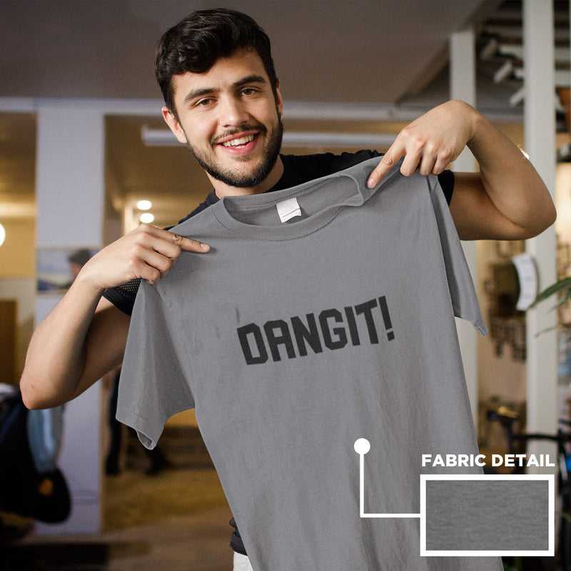 Men's Dangit! Tee deep heather
