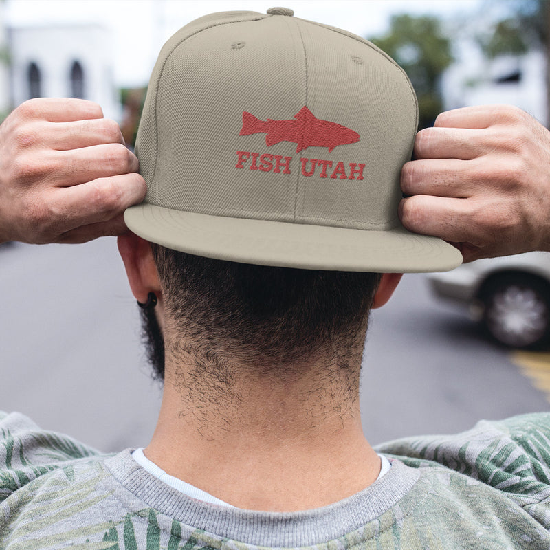 Fish Utah Trucker Hat