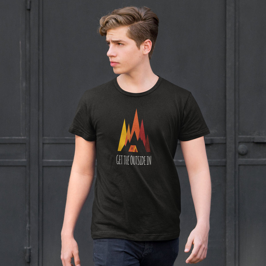 Men's Get the Outside In Utah t-shirt black