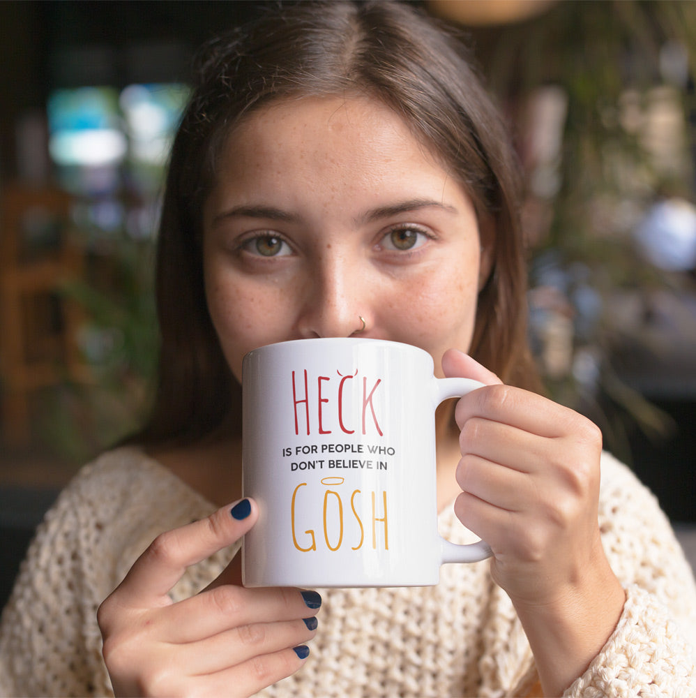 Heck Gosh Coffee Mug