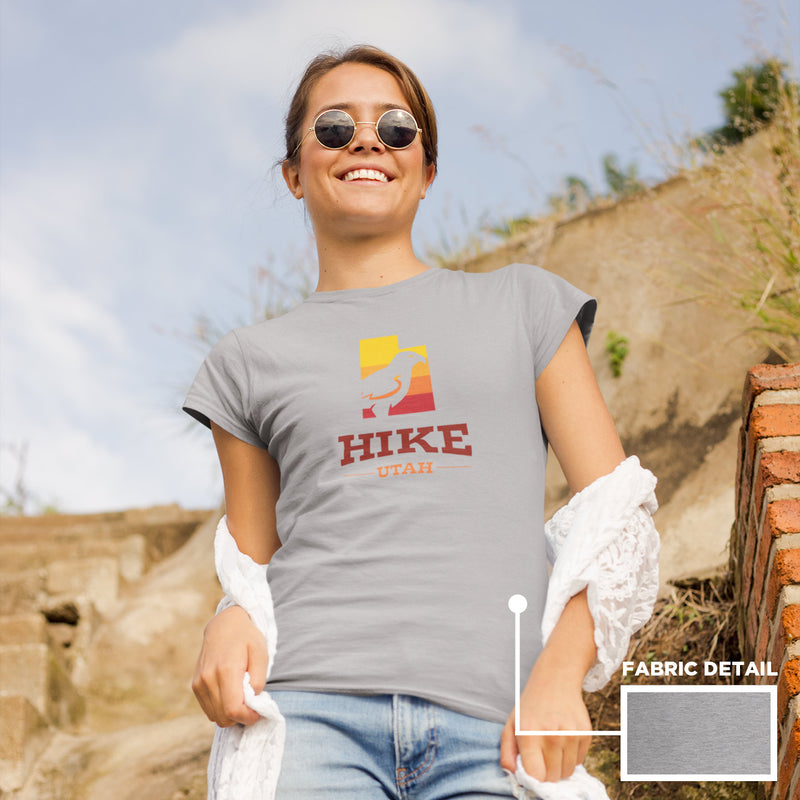 Women's Hike Utah Hawk Gradient t-shirt athletic