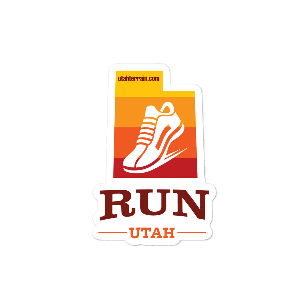RUN UTAH STICKER