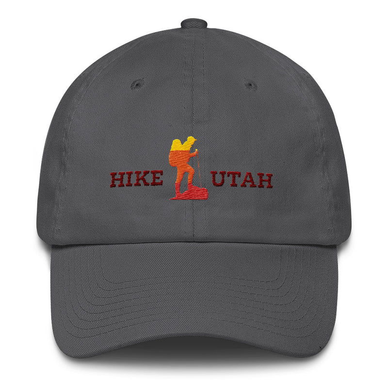 Hike Utah Trekker Hat charcoal