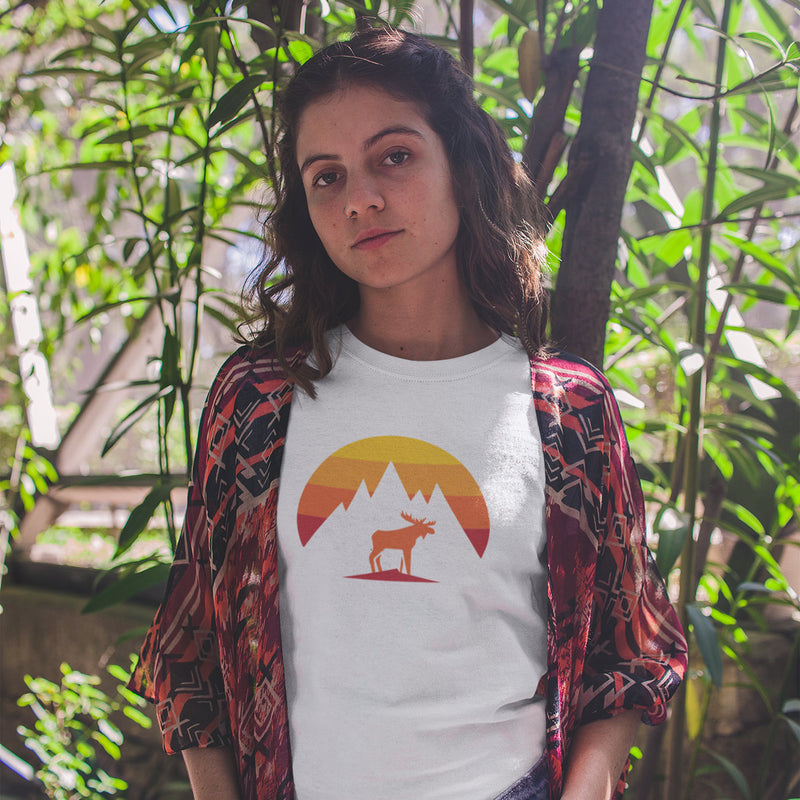 Women's Mountain Moose t-shirt