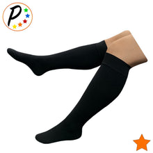 Load image into Gallery viewer, (Petite) Traditional Closed Toe 15-20 mmHg Moderate Compression Leg Calf Socks