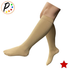 Load image into Gallery viewer, (BIG & TALL) Traditional Closed Toe 20-30 mmHg Compression Leg Calf Swelling Socks