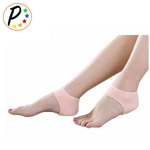Original Foot Heel Plantar Fasciitis Protector Gel Silicone Cushion 1 Pair