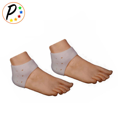 Foot Heel Plantar Fasciitis Gel Silicone Cushion With Breathable Air Support 1 Pair