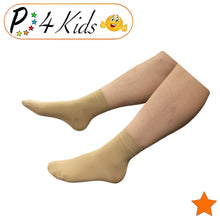 Load image into Gallery viewer, Kid's Ankle 15-20 mmHg Compression Foot Leg Open Closed Toe Sleeve Socks