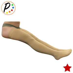 Thigh High Closed Toe 20-30 mmHg Firm Compression Full Length Leg Swelling Circulations