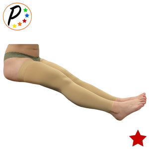 Thigh Sleeve 20-30 mmHg Firm Compression Reduce Leg Swelling Increase Circulations