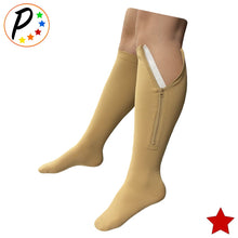 Load image into Gallery viewer, (BIG & TALL) Original Closed Toe 20-30 mmHg Zipper Firm Compression Leg Swelling Socks