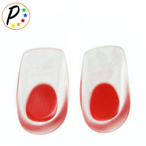 Foot Ankle Heel Cup Gel Silicone Shock Absorbing Cushion Support 1 Pair