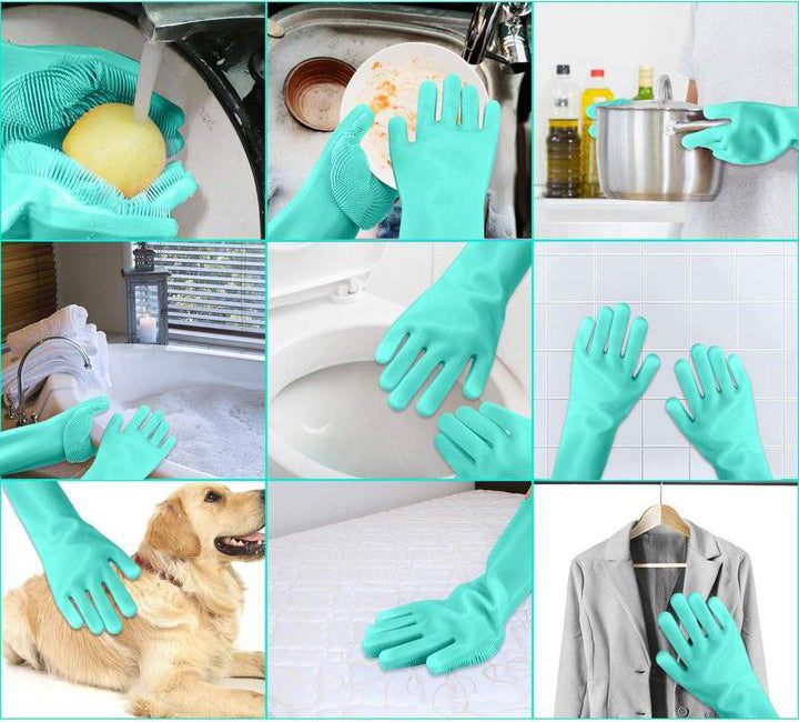 Magic Silicone Gloves (1 pair) – MyGearStory