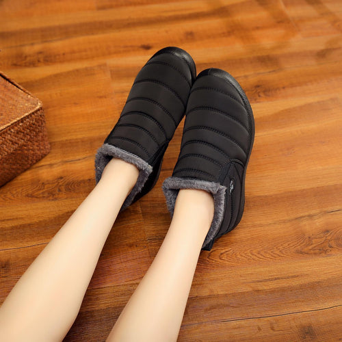 Waterproof Soft Sole Slip On Warm Casual Snow Ankle Boots 114955