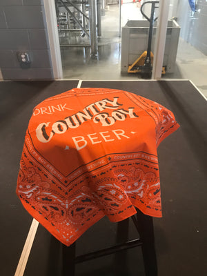 Drink Country Boy Beer Bandana