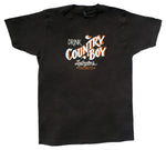 T-Shirt - Drink Country Boy - Black