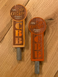 Original Country Boy Tap Handles - Small Drink Country Boy Logo