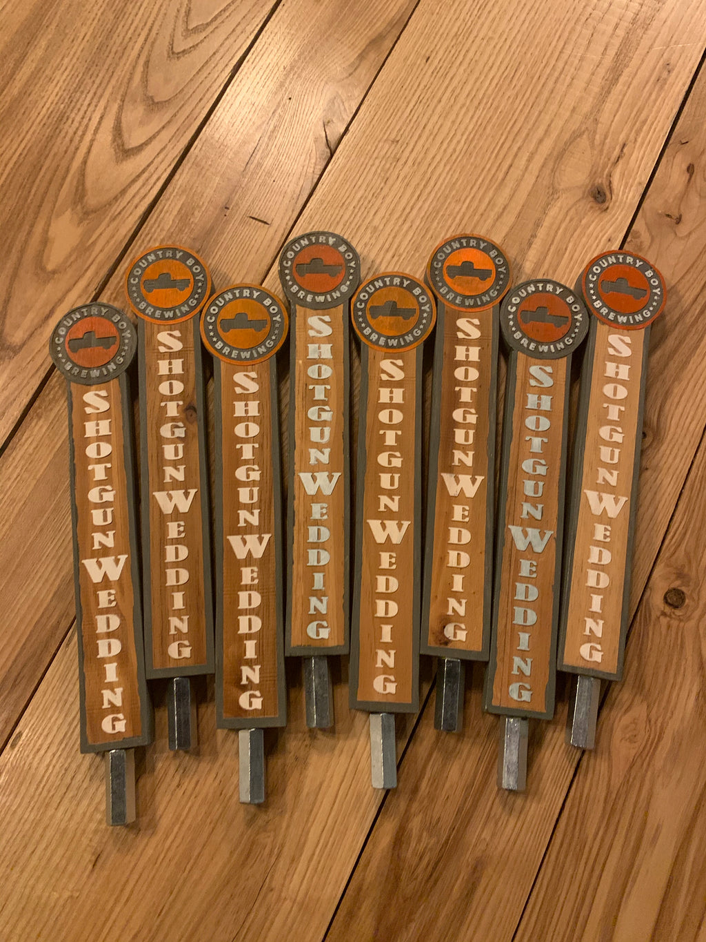 Original Country Boy Tap Handles - Shotgun Wedding
