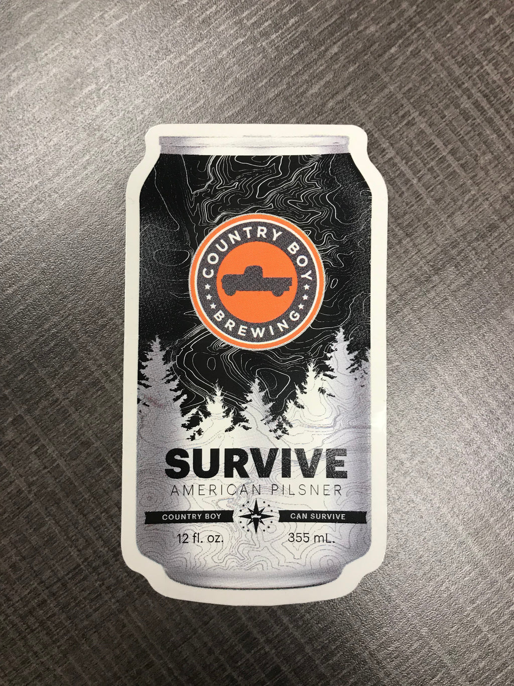 Vinyl Sticker - Survive