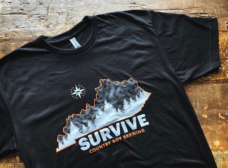 T-Shirt - Survive - Black
