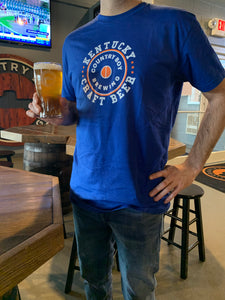 T-Shirt - Kentucky Craft Beer - Blue
