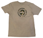 T-Shirt - Camo Logo - Green