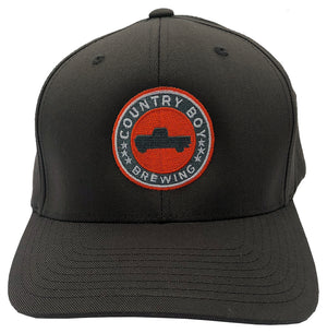 Flex-Fit Solid Gray Hat