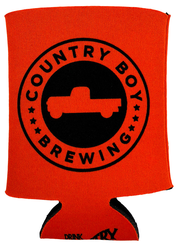 Orange Can Koozie