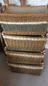 Beautiful Log/Storage Basket