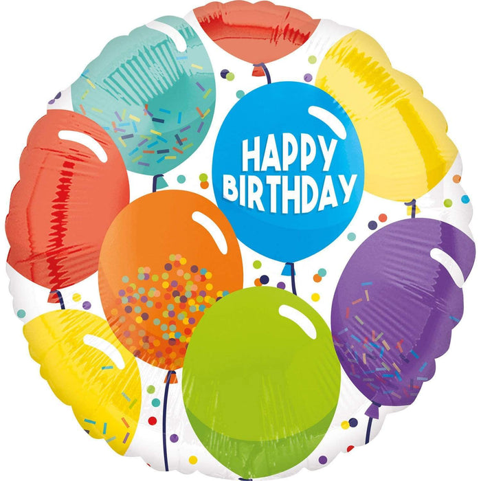 "Amscan Folienballon Folienballon ""Happy Birthday Celebration"""