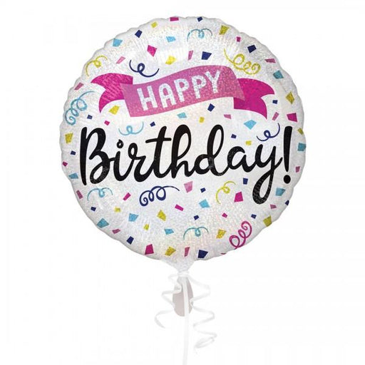 Amscan Folienballon Folienballon Happy Birthday Sparkle Banner