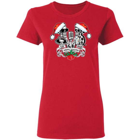 HEPS Xmas Ladies T-Shirt