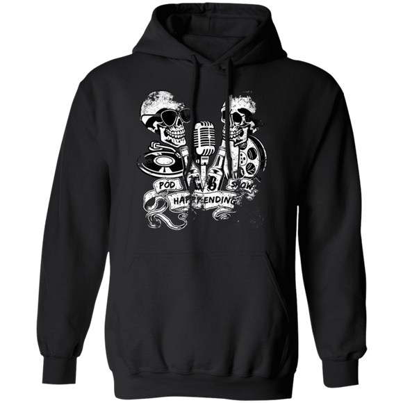 Happy Ending Pod Show Distressed Unisex Hoodie