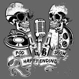 Happy Ending Pod Show - Distressed T-Shirt