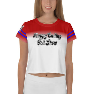 Happy Ending Pod Show New Chaos Crop Tee