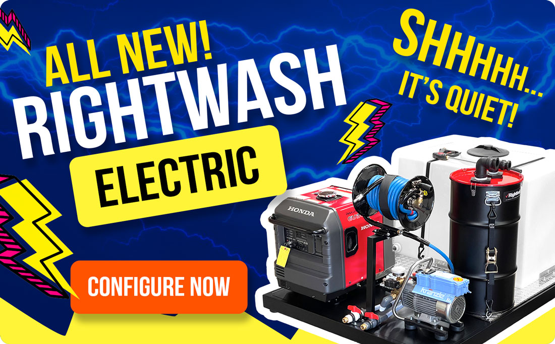 All New Rightwash Electric Deluxe Detail Pro Skid Mount