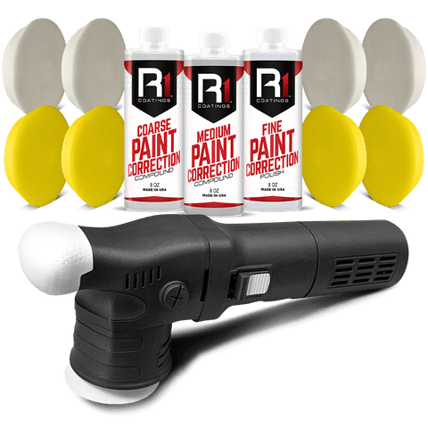 R1 Coatings® Standard Paint Correction Kit - Mini