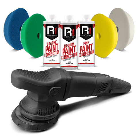 R1 Coatings® Basic Paint Correction Kit
