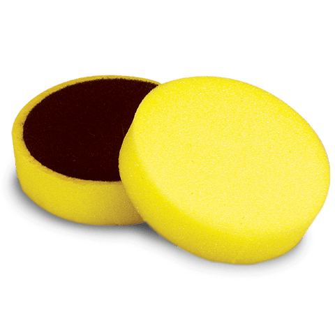 Cyclo Polisher Pads - Yellow Foam - Heavy Cutting (Set of 2 Pads)