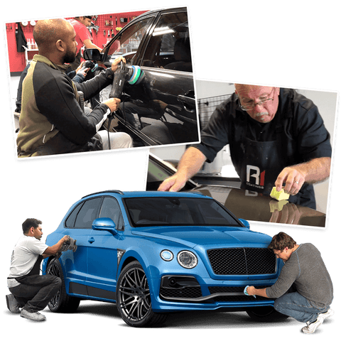 5-Day Advanced Auto Detailing Training. 4 Day Hands-On, 1 Day Online Training.