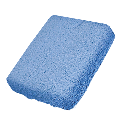 Blue Microfiber Wax and Polish Applicator