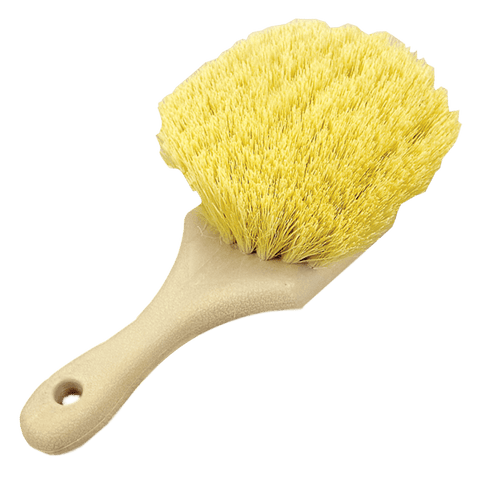 Yellow Body and Grill Detailing Brush - Short Handle