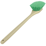 Green Flagged Body Detailing Brush - Long Handle