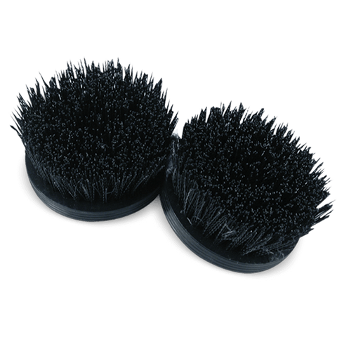 Heavy Duty Cyclo Scrub Brushes with Black Bristles (Set of 2 Brushes)