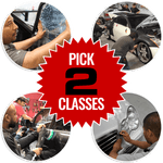 Pick 2 Training Class Package Bundle