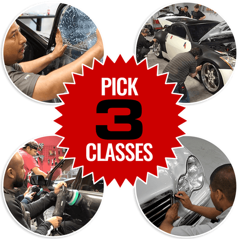 Pick 3 Training Class Package Bundle