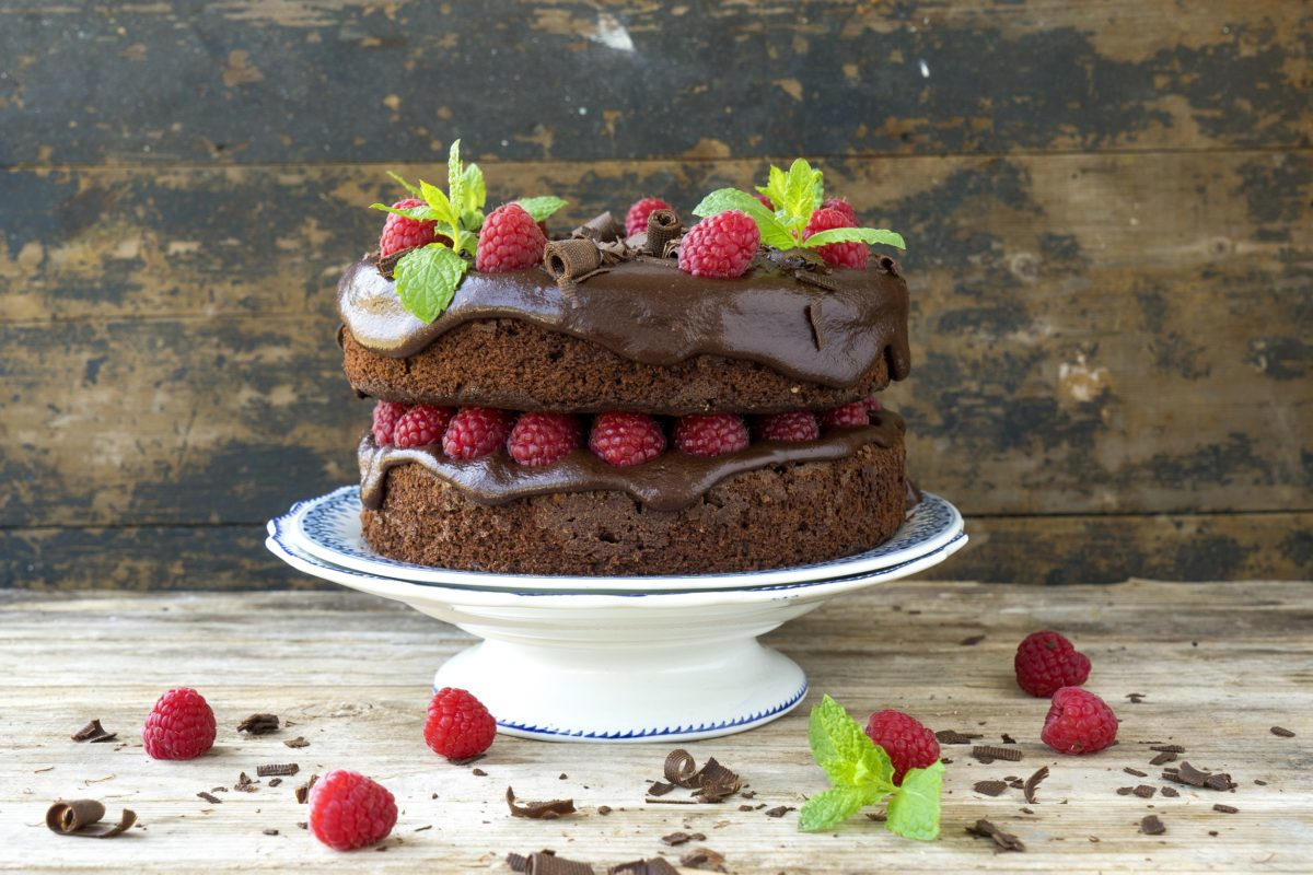 Veganuary offers a lot of vegan recipes like this chocolate cake