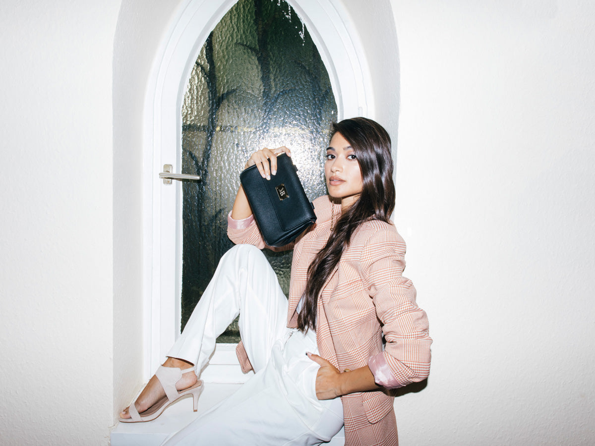 Melina Bucher vegan designer bag campaign shot