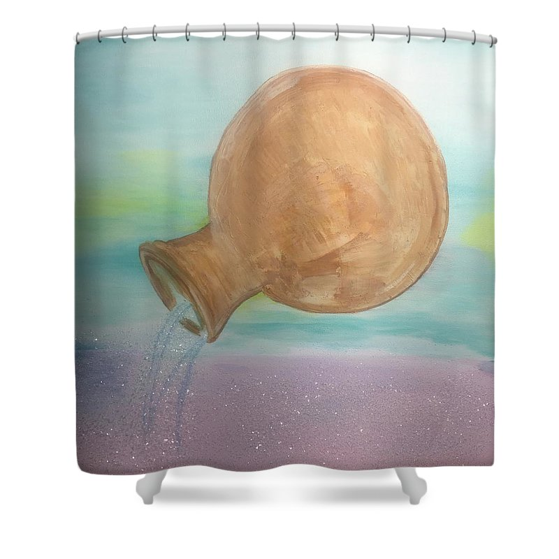 Aquarius  - Shower Curtain